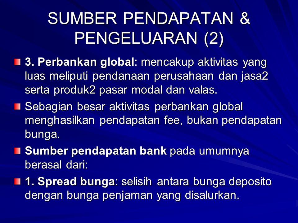 SUMBER PENDAPATAN & PENGELUARAN (2) 3.