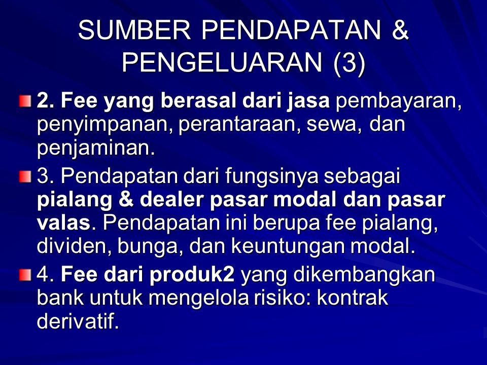 SUMBER PENDAPATAN & PENGELUARAN (3) 2.