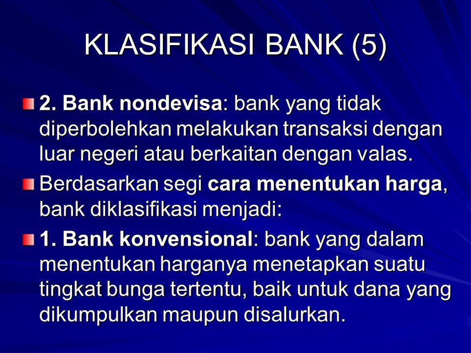 KLASIFIKASI BANK (5) 2.