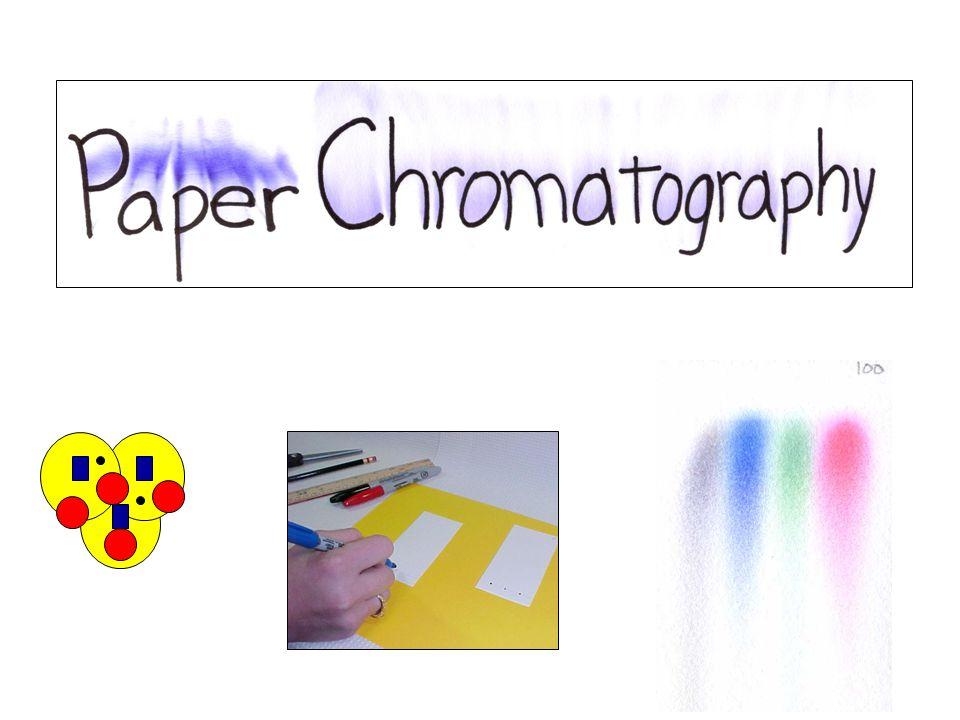 Sifat Fisika kimia kertas untuk Kromatografi Kertas terdiri dari 98 -99 %  selulose, 0,3-10 %  selulose, dan 0,4-0,8 % pentosan.