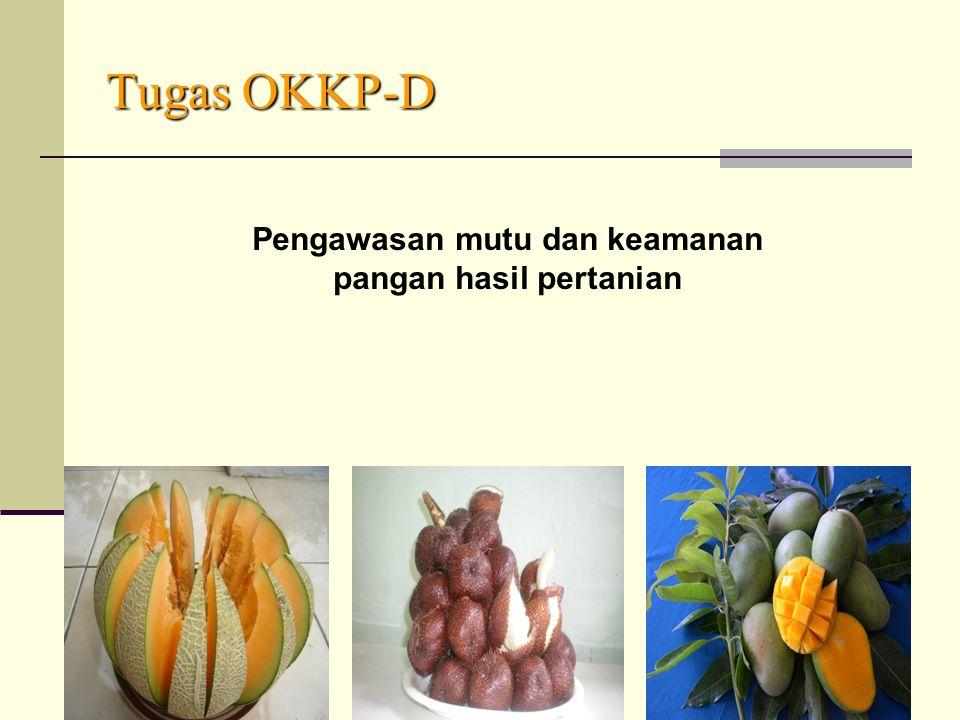 Tugas OKKP-D Pengawasan mutu dan keamanan pangan hasil pertanian