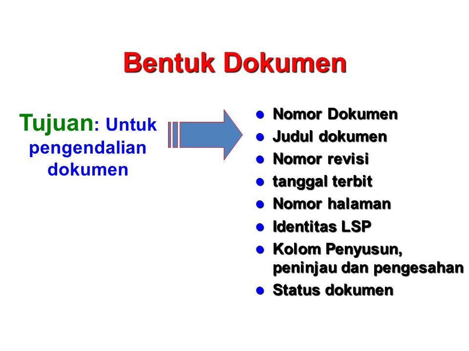 Kapan diperlukan Instruksi Kerja Mulai Tulis Instruksi kerja Tidak perlu IK Dokumentasikan sebagai Prosedur Identifikasi aktivitas operasional Tidak perlu IK Selesai Satu fungsi .
