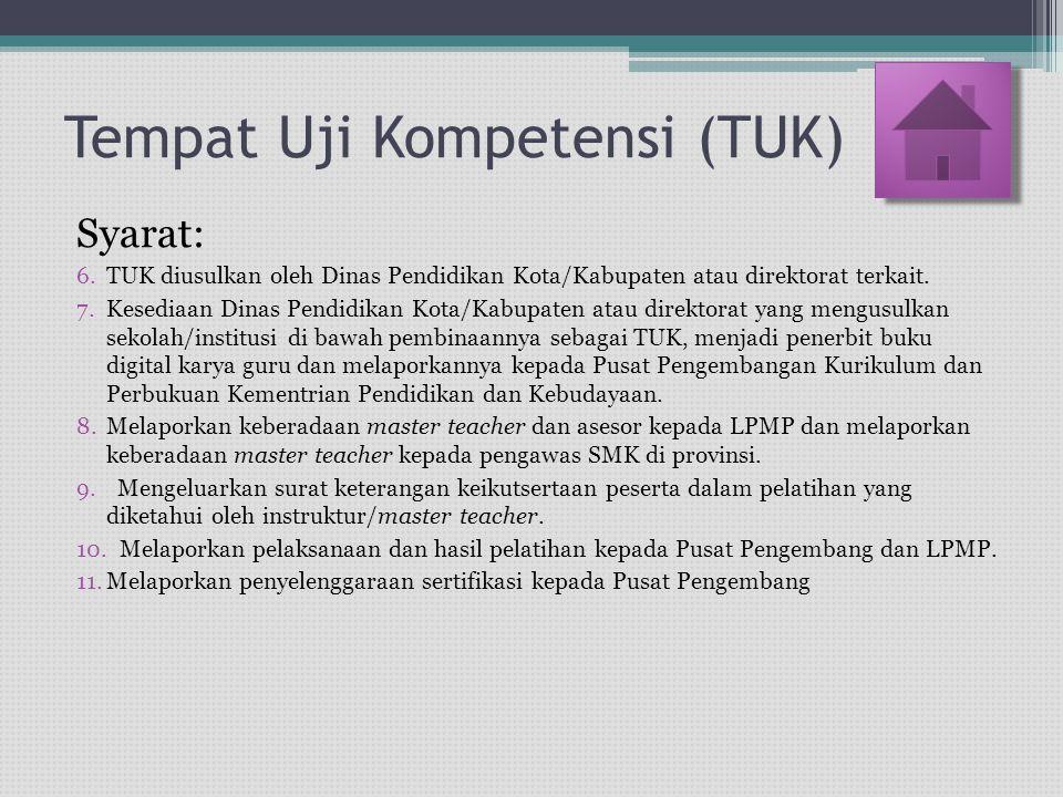 18 Kabupaten 9 Kota Usulan calon TUK: 1.… 2.… 3.… LPMP Sekolah Rujukan Jaringan LPMP