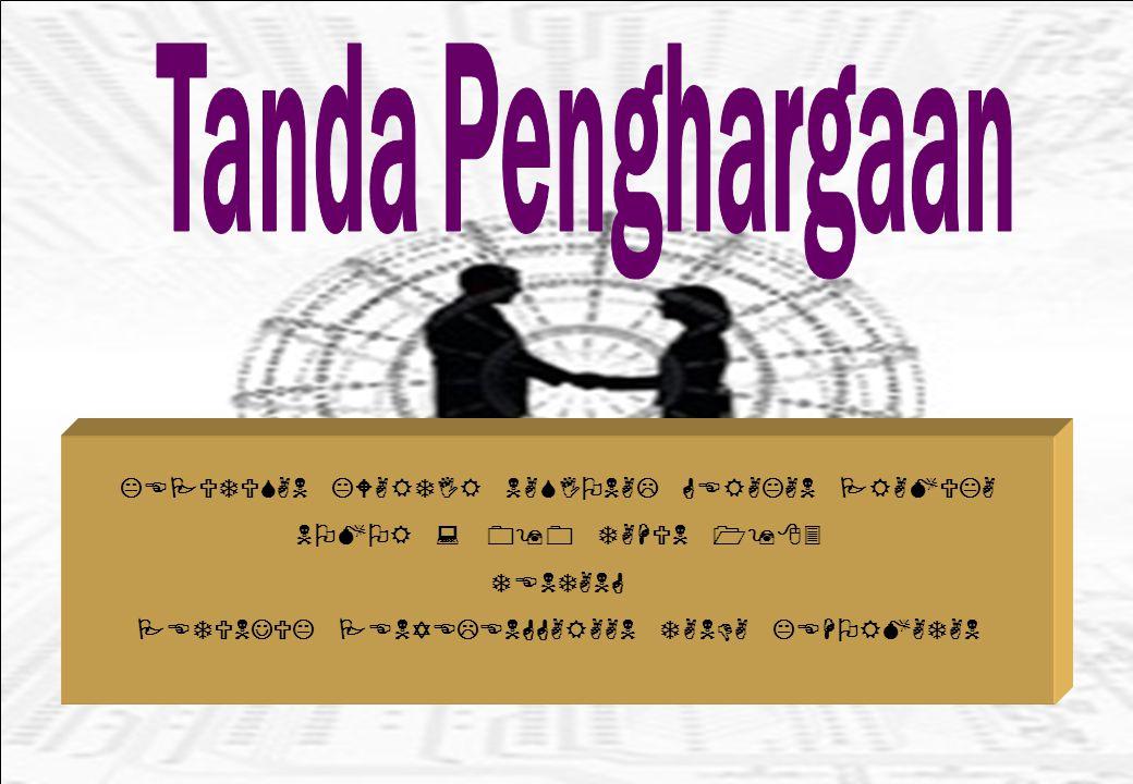 Mengganti istilah Tanda Kehormatan dan bintang dalam Tanda Kehormatan Gerakan Pramuka sebagaimana tercantum dalam Keputusan Kwartir Nasional Gerakan Pramuka Nomor 090 Tahun 1983 dan dalam Petunjuk Penyelenggaraan lainnya dengan istilah Tanda Penghargaan.