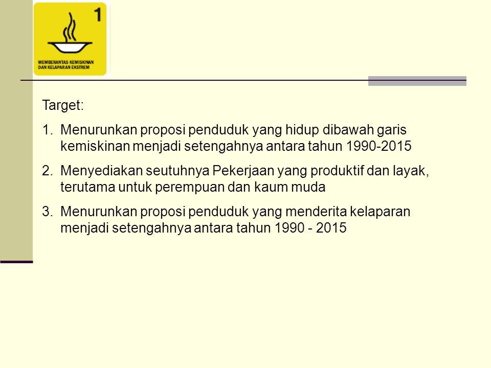 Memastikan semua anak di Indonesia pada tahun 2015, bak laki-laki maupun perempuan, akan menyelesaikan pendidikan dasar secara penuh