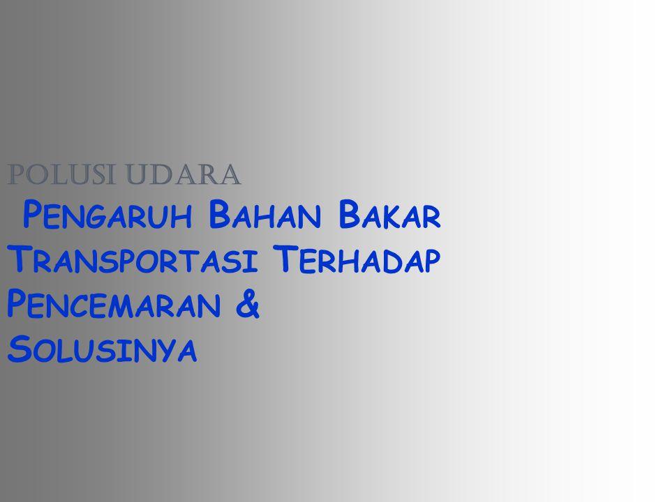 L ATAR B ELAKANG Tingginya pertumbuhan jumlah kendaraan bermotor di kota-kota besar di Indonesia cukup tinggi yaitu berkisar 8-12% per tahun (Sumber : Kepolisian Negara Republik Indonesia, Direktorat Lalu Lintas (Januari 2000)).