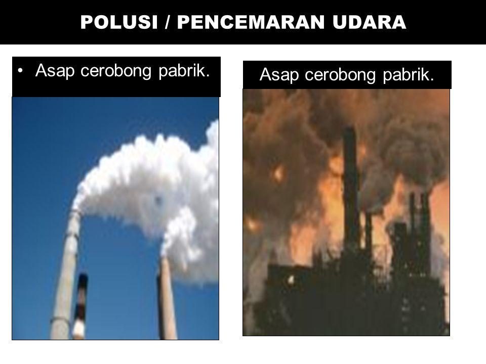 Efek-efek Lainnya Seriously injure vegetation at certain concentrations.