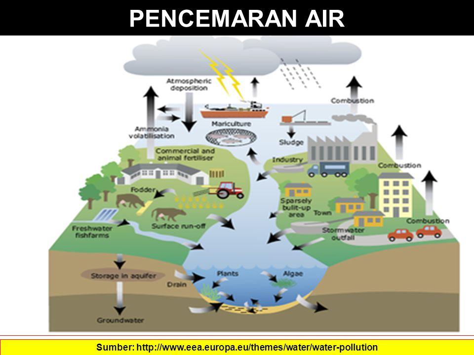 PENCEMARAN AIR Sumber: http://www.eea.europa.eu/themes/water/water-pollution