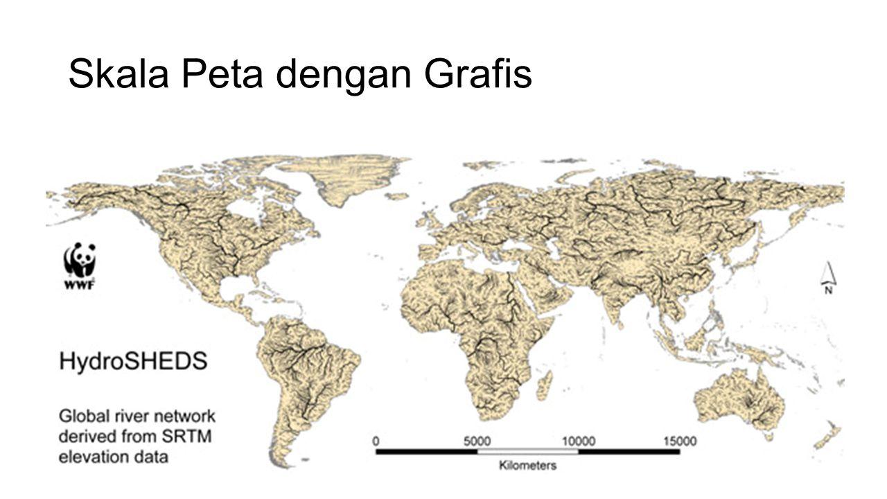 Skala Peta dengan Grafis