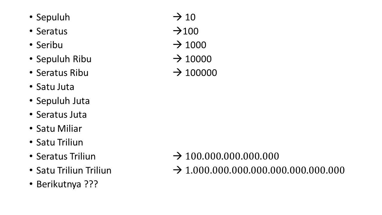 Scientific notation merupakan format penulisan angka yaitu angka ditulis antara 1 dan 10 dengan pengalian pangkat 10