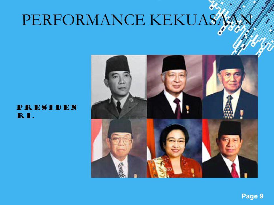 Powerpoint Templates Page 10 Diskusi analisis: Menurut anda, jenis kekuasaan mana yang mendominasi di Indonesia? Analisislah dengan data dan berikan contoh.