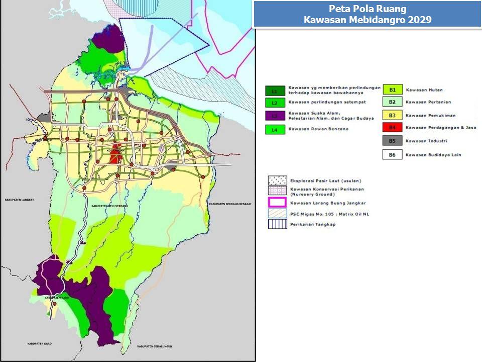 Peta Pola Ruang Kawasan Mebidangro 2029 Peta Pola Ruang Kawasan Mebidangro 2029