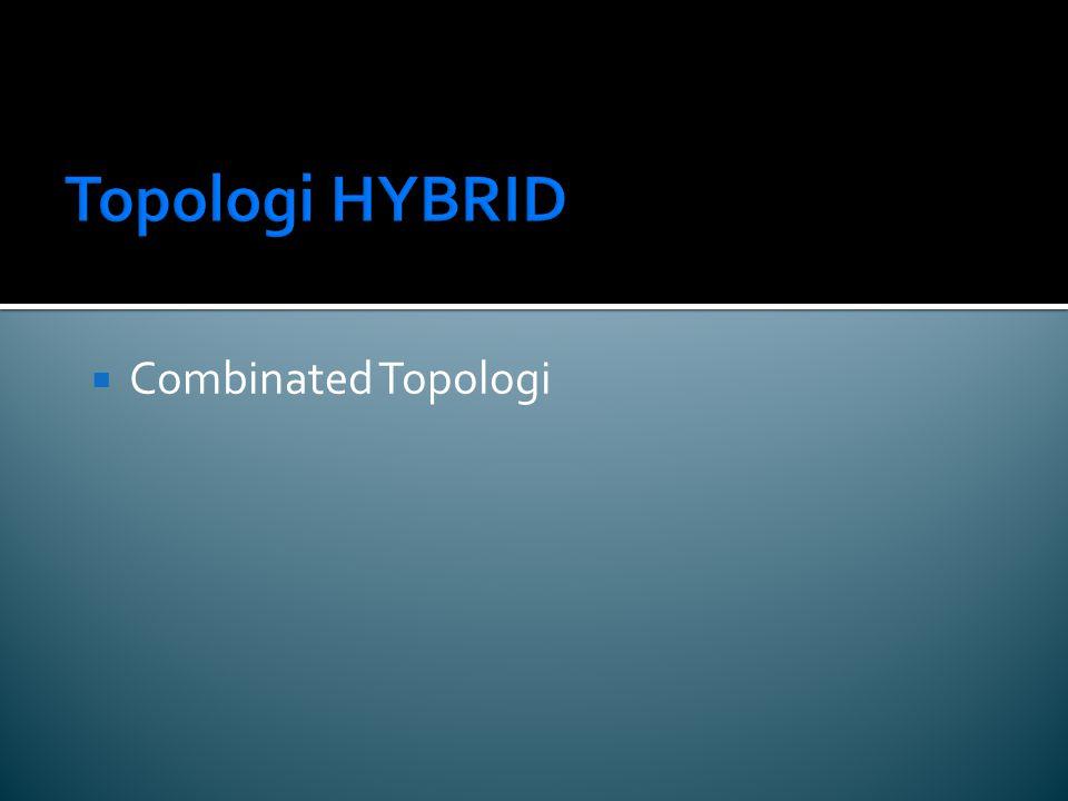 Topologi HYBRID  Combinated Topologi