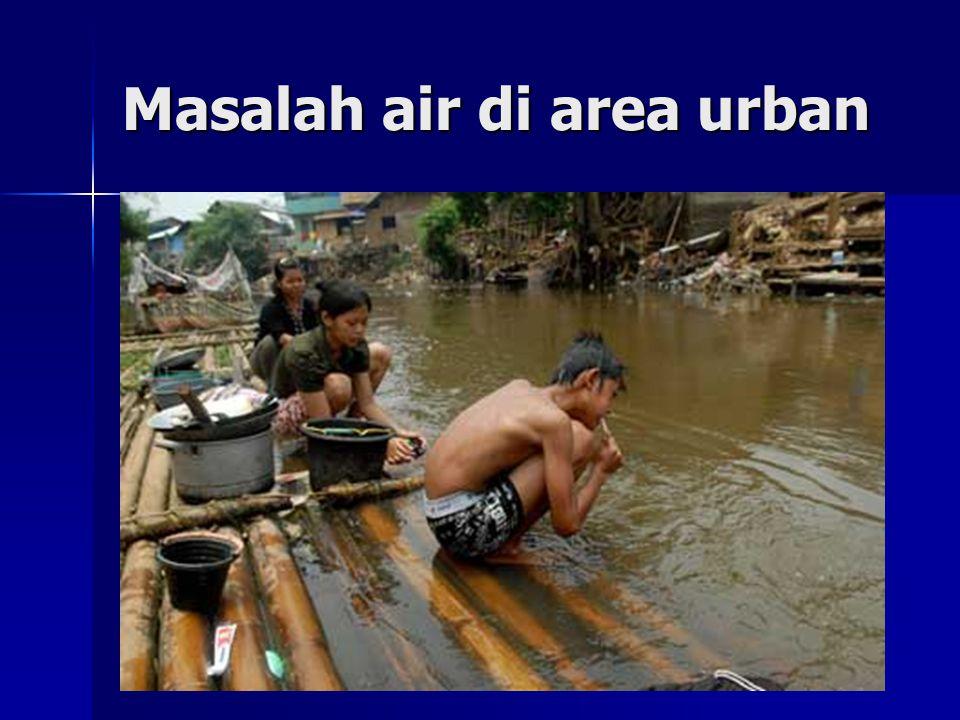 Air minum dapat sebagai sumber penyakit (Water borne disease), bila tercemar kuman patogen, antara lain : * S.