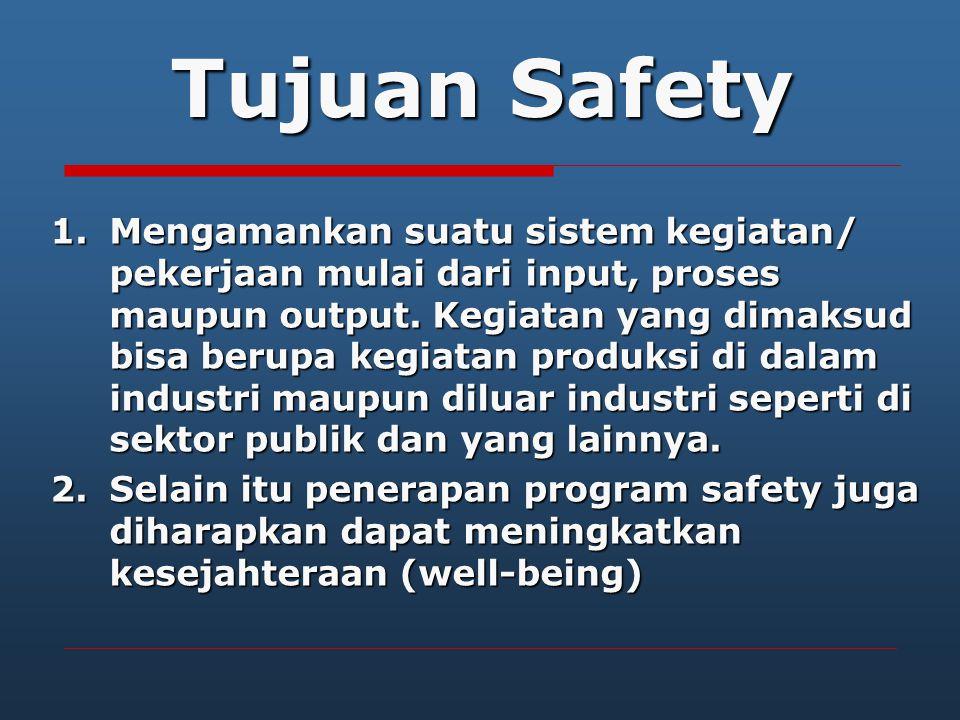 ILO dalam resolusinya menyatakan ada 3 prinsip dasar K3, yaitu : 1.Work should take place in a safe and healthy working environment 2.