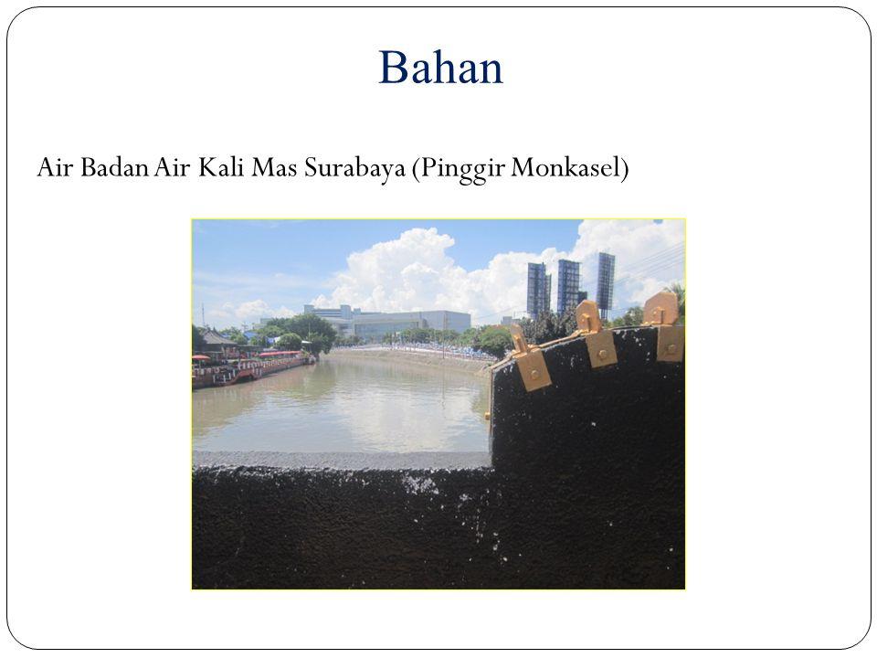 Bahan Air Badan Air Kali Mas Surabaya (Pinggir Monkasel)