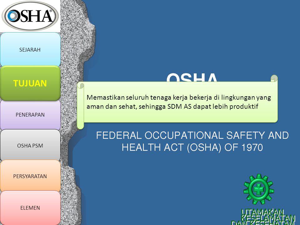Memastikan seluruh tenaga kerja bekerja di lingkungan yang aman dan sehat, sehingga SDM AS dapat lebih produktif UTAMAKAN KESELAMATAN DAN KESEHATAN KE
