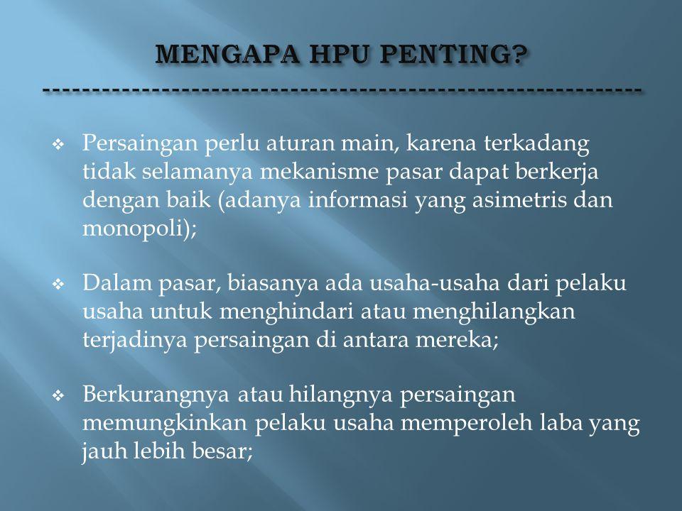 Pelaku usaha di Indonesia dalam menjalankan kegiatan usahanya berasaskan demokrasi ekonomi dengan memperhatikan keseimbangan antara kepentingan pelaku usaha dan kepentingan umum (Pasal 2 UU No.5/1999).