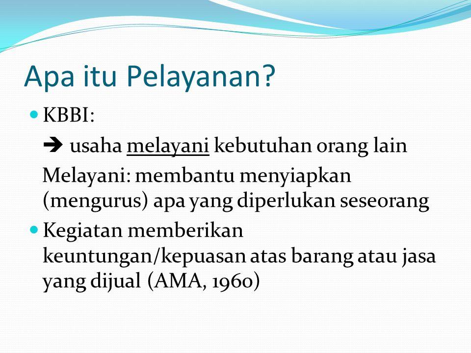 Tujuan Pelayanan Publik Dalam Sinambela (2010, hal : 6), secara teoritis tujuan pelayanan publik pada dasarnya adalah memuaskan masyarakat.