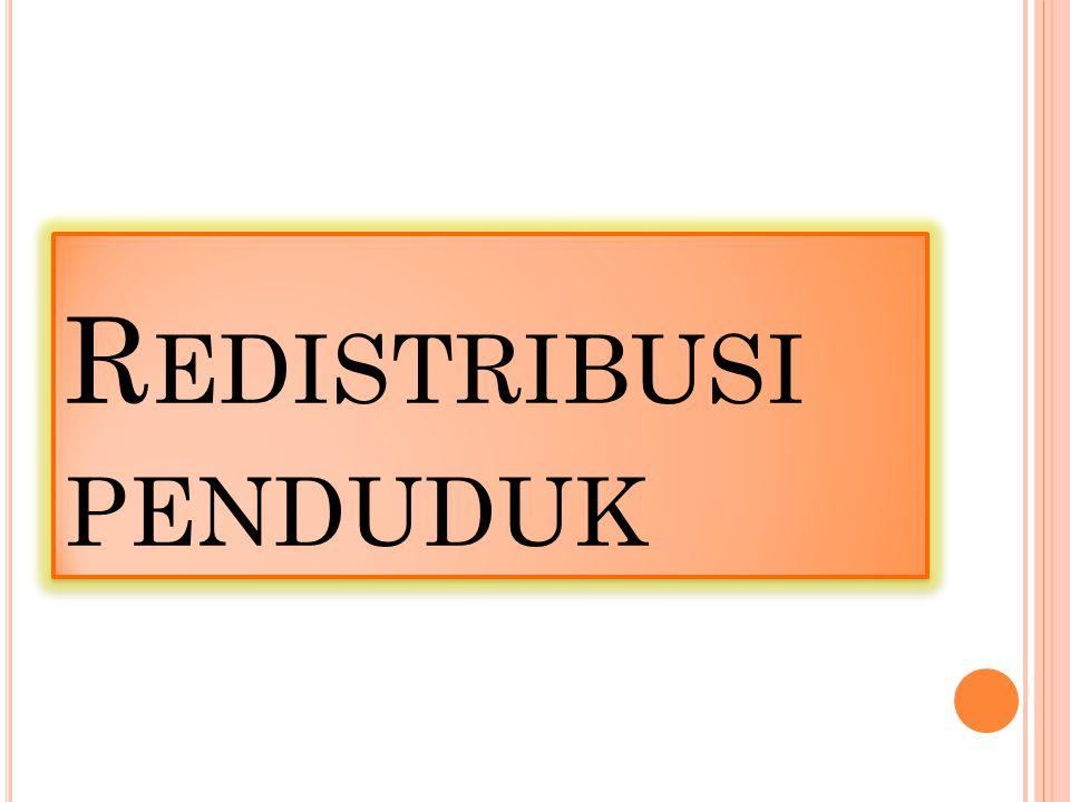 L ATAR B ELAKANG Peningkatan jumlah penduduk yang sebagian besar Penduduk berada di Pulau Jawa Pengganguran yang semakin meningkat.