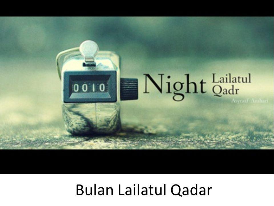 Bulan Lailatul Qadar