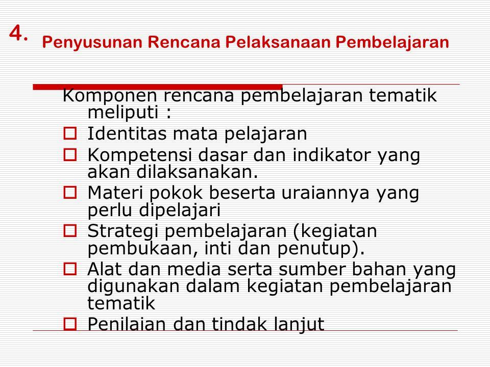 Tahap Pelaksanaan 1.Tahapan/jadwal kegiatan per hari - Kegiatan Pembukaan (± 1 jp) - Kegiatan Inti (± 3 jp) - Kegiatan Penutup (± 1 jp) 2.Pengaturan jadwal pelajaran