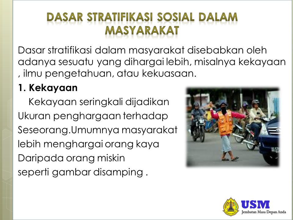 STRATIFIKASI SOSIAL Bentuk-Bentuk Mobilitas Sosial  Mobilitas Sosial Horizontal Adalah peralihan individu atau objek-objek sosial dari suatu kelompok sosial ke kelompok sosial lainnya yang sederajat.