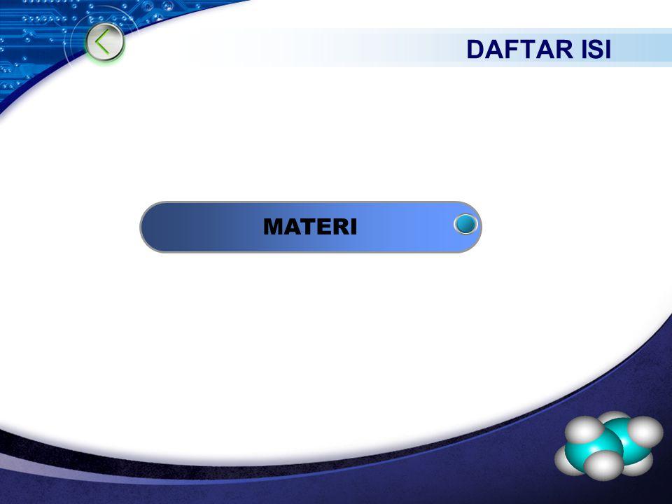 LOGO MATERI DAFTAR ISI