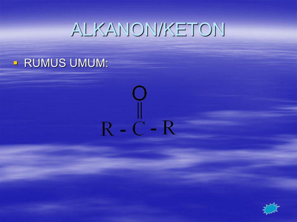 ALKANON/KETON