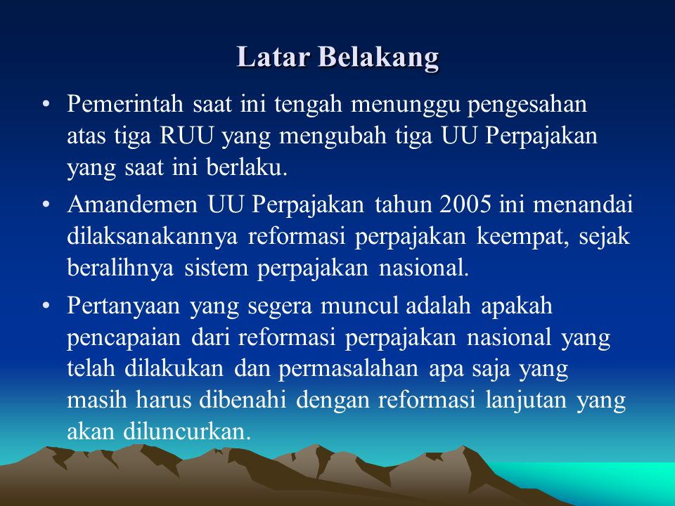 Pengertian Pajak Menurut Adam Smith (1898:302), pajak adalah a contribution from the citizen to support of the state .