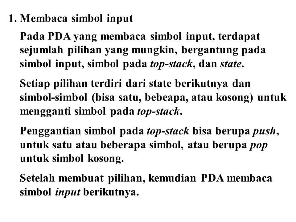2.Tanpa menerima input (  ).