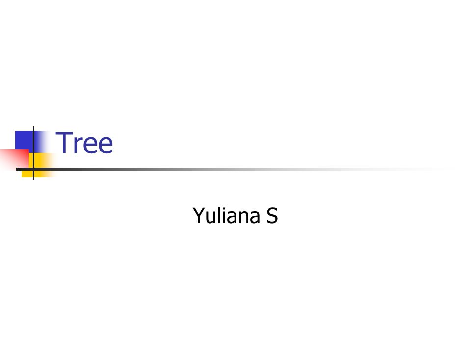 Binary Tree sebuah pengorganisasian secara hirarki dari beberapa buah simpul, dimana masing- masing simpul tidak mempunyai anak lebih dari 2.