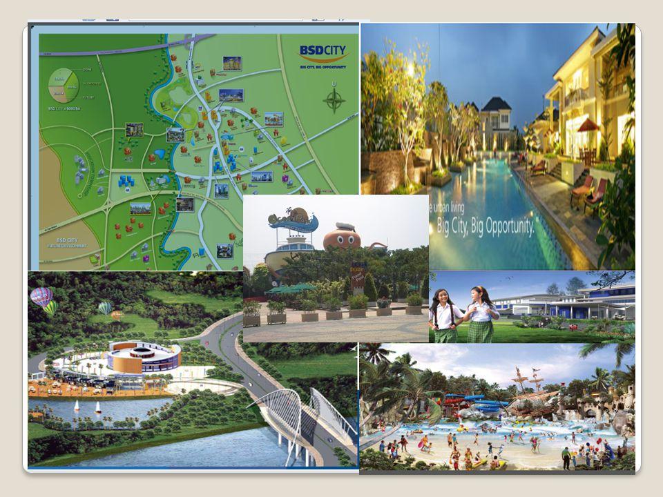 Perluasan Pengembangan PT. Jaya Real Property (Kecamatan Pondok Aren) Perluasan Pengembangan BSD City (Kecamatan Serpong) Perluasan Pengembangan PT. A