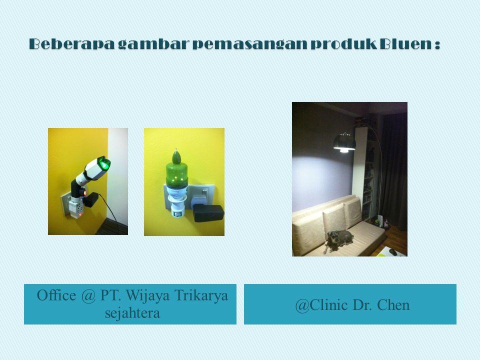 Office @ PT. Wijaya Trikarya sejahtera @Clinic Dr. Chen