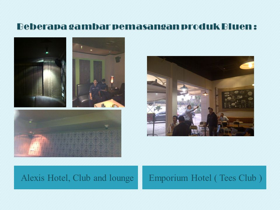 Alexis Hotel, Club and loungeEmporium Hotel ( Tees Club )