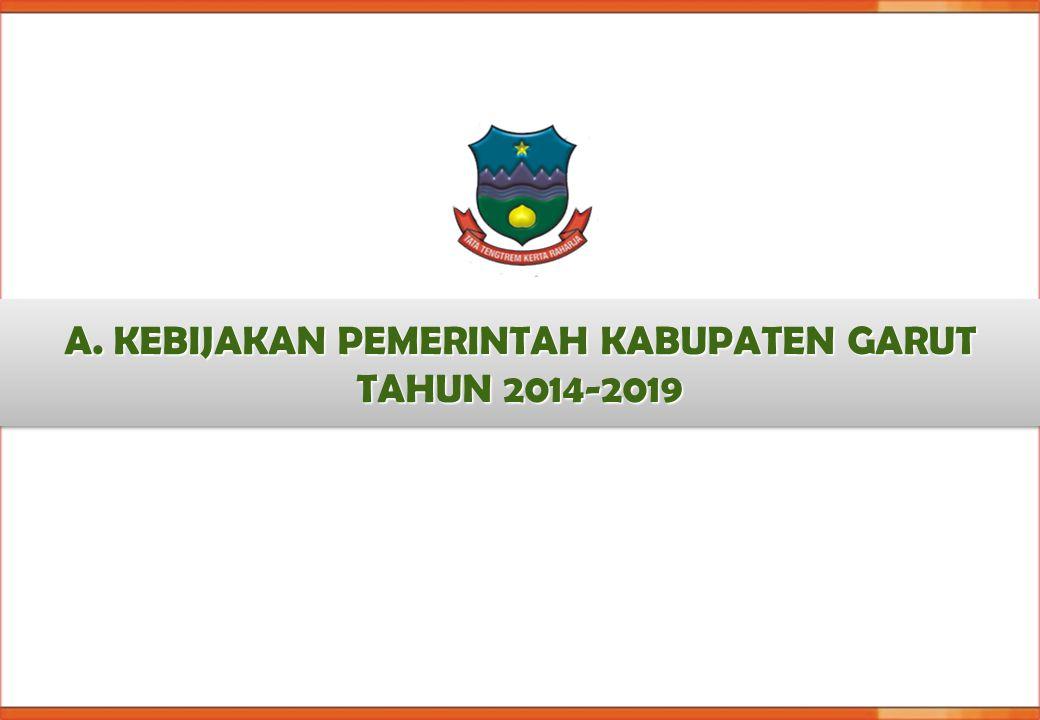 A. KEBIJAKAN PEMERINTAH KABUPATEN GARUT TAHUN 2014-2019
