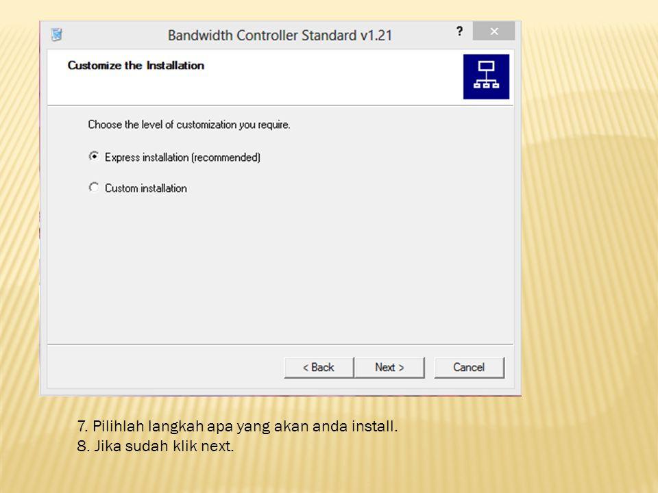 9. Tandai Continue with instalation. 10. Setelah itu klik next.
