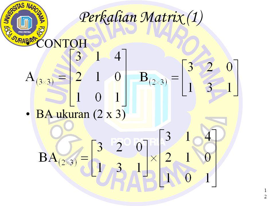 13 Perkalian Matrix (2)