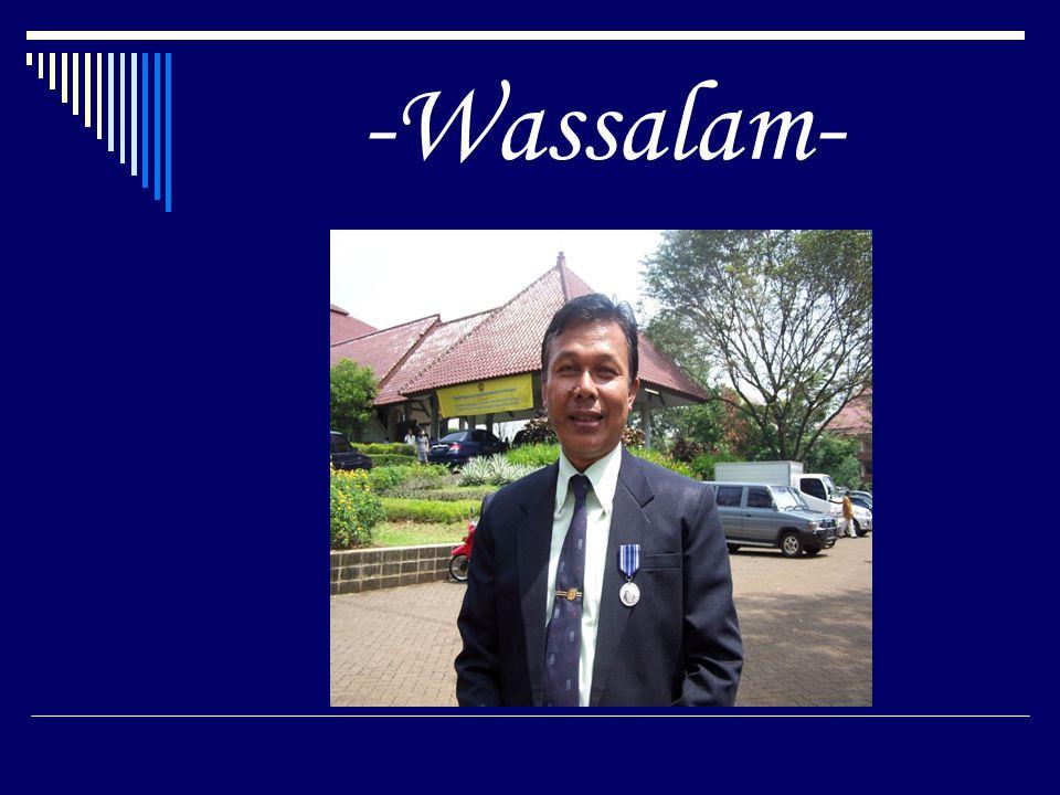 -Wassalam-