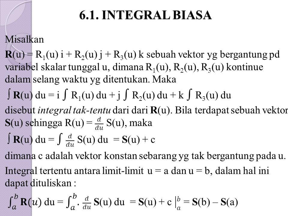 6.1. INTEGRAL BIASA