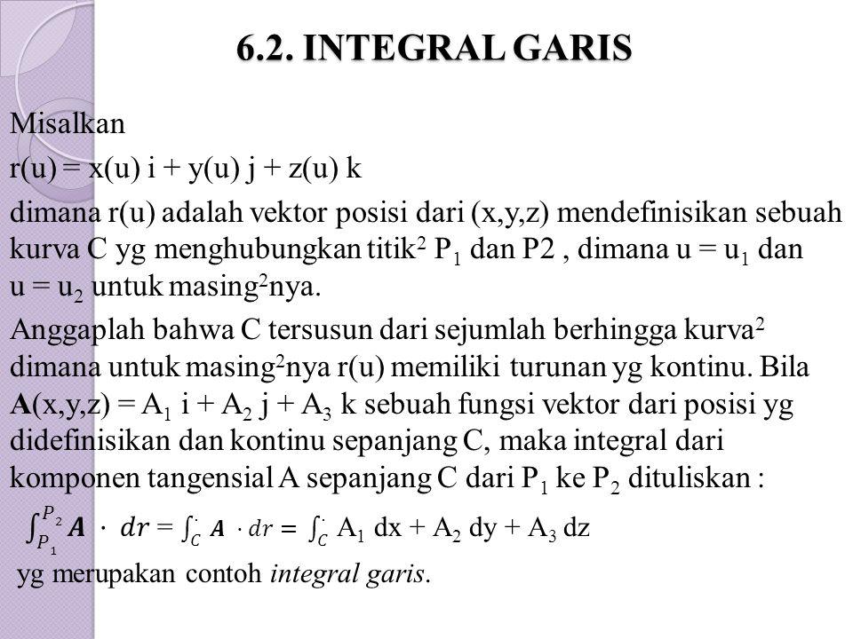 6.2. INTEGRAL GARIS