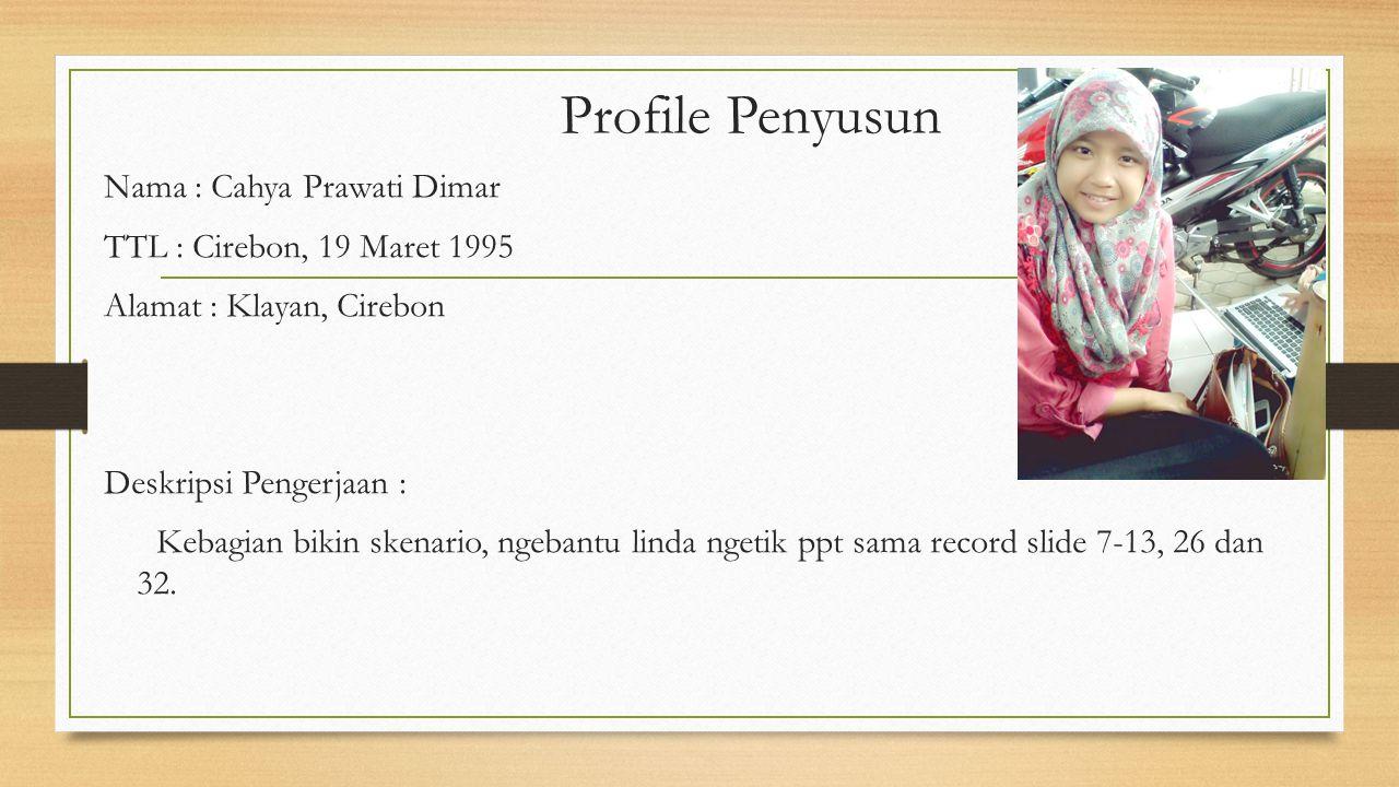 Daftar Pustaka Nasution, A.H. 1995. Matematika. Jakarta: Balai Pustaka Pesta.E.S dan Cecep Anwar. 2008. Matematika Aplikasi Untuk SMA Kelas XII. Jakar