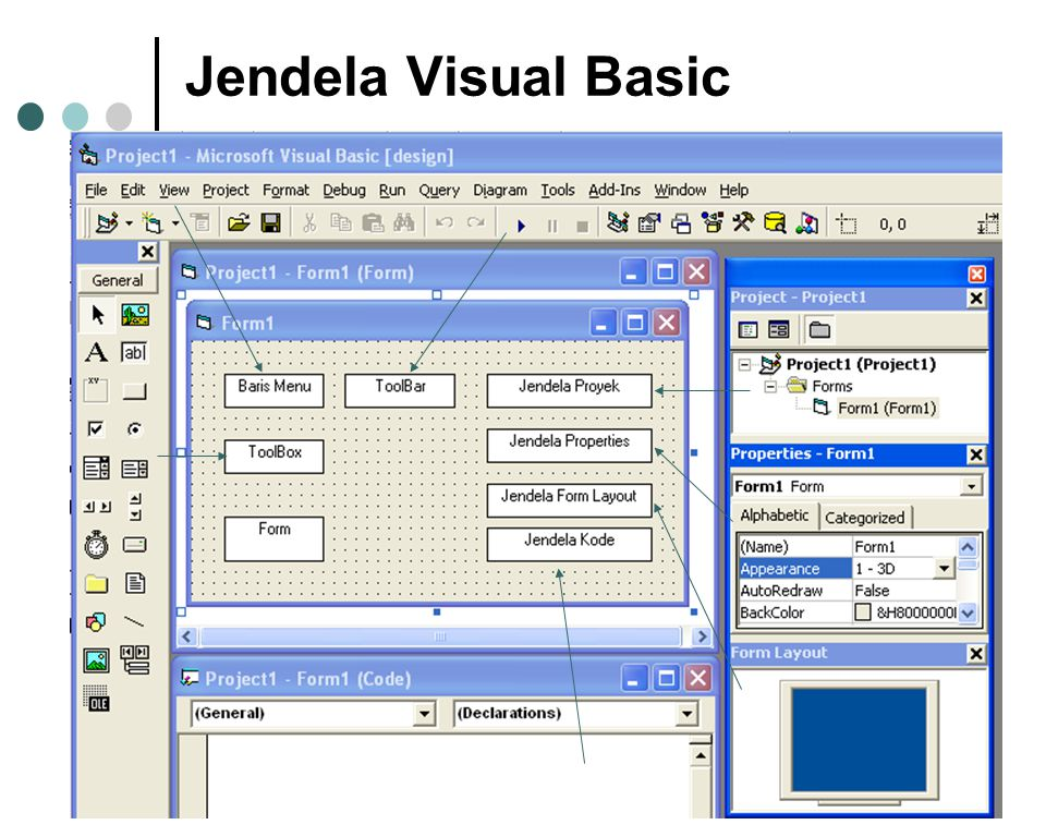 Jendela Visual Basic