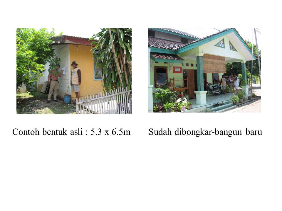 Kondisi daerah Jatiwangi : daerah industri keramik (bata merah, genteng, semen) Suhu : panas -> kemungkinan tinggi pasang AC Konsep rumah : isolasi panas (dinding, jendela, atap, pintu) bahan pokok : bata