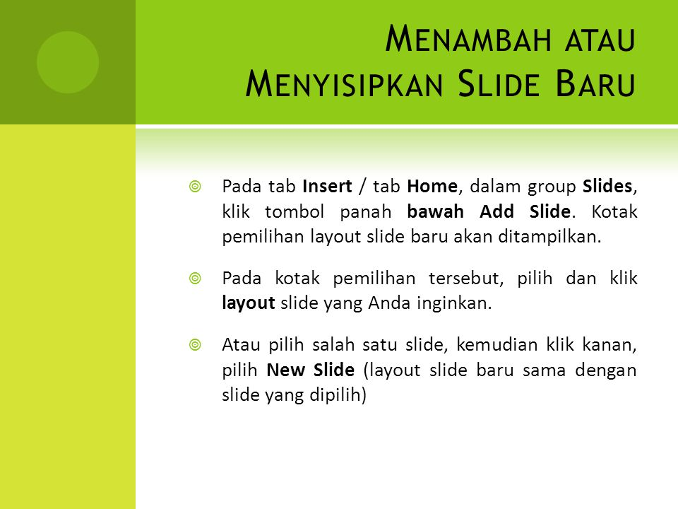 W EB PAGE 1.Buka file presentasi yang akan disimpan dalam format file Web Page.