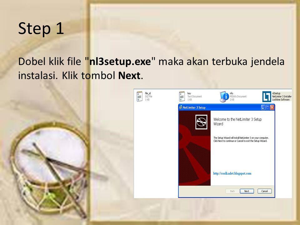 Step 1 Dobel klik file