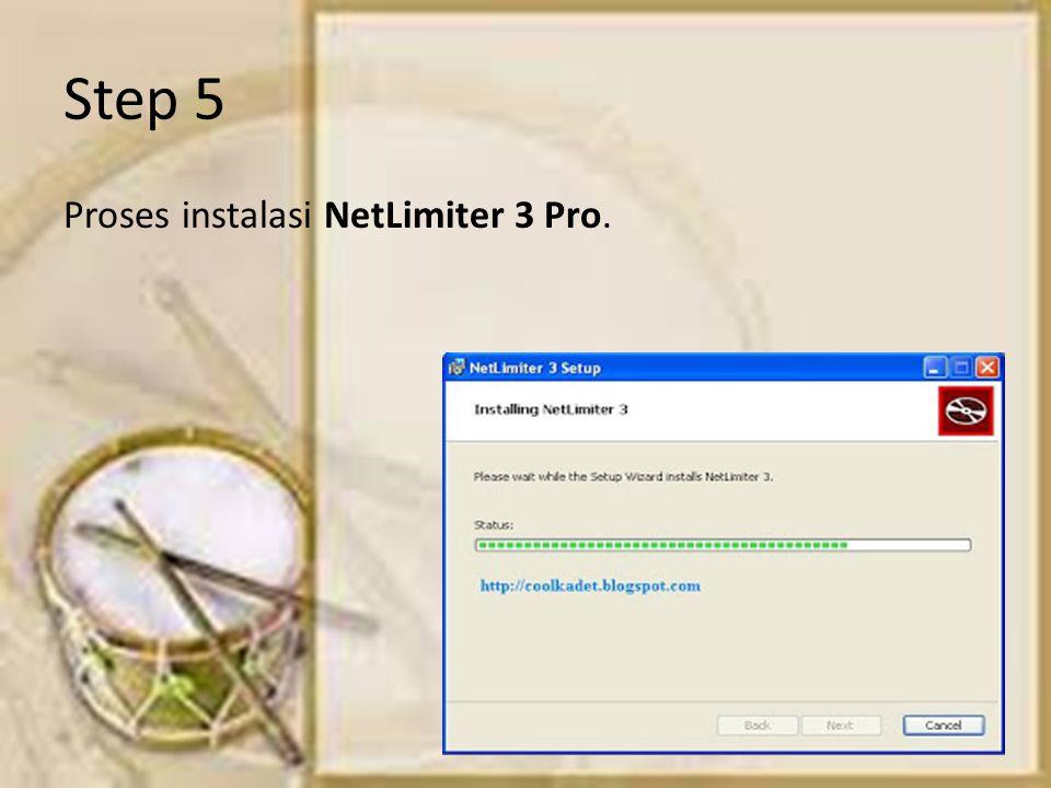 Step 5 Proses instalasi NetLimiter 3 Pro.