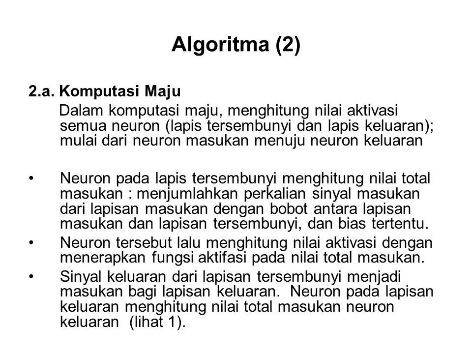 Algoritma (2) 2.a.