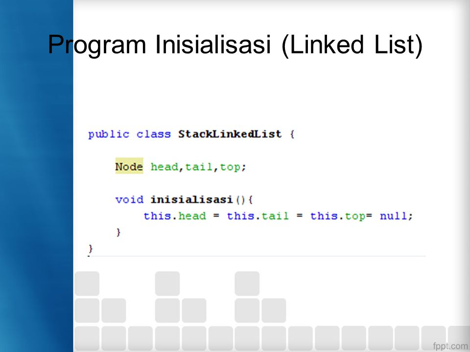 Program Inisialisasi (Linked List)