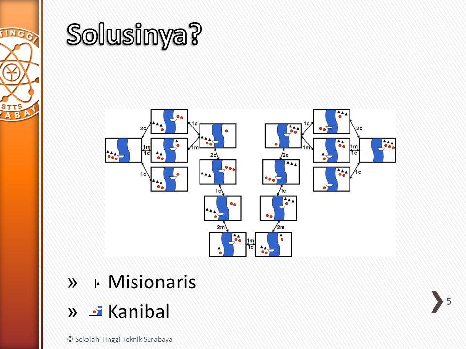 » Misionaris » Kanibal 5 © Sekolah Tinggi Teknik Surabaya